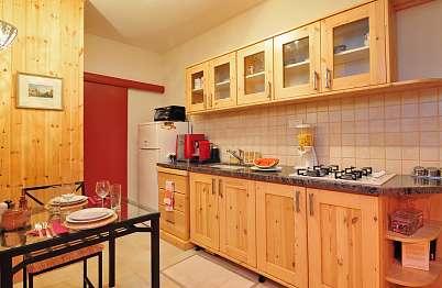מטבח מאובזר עם אפשרות לבשל