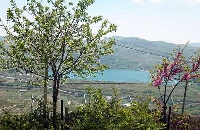 הנוף משומר האגם- בריכת רם