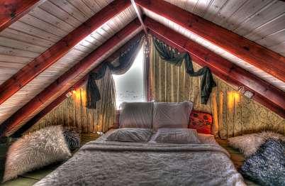 """מתחם השינה גבוה מעל כולם ב""""גג העולם"""""""