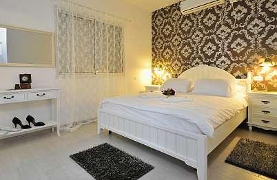 חדרי שינה מהודרים בוילת האירוח