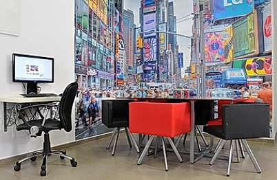 הלופט הניו יורקי עמדת מחשב - אינטרנט מהיר