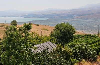 ממוקמים על ההר עם נוף לכינרת ולמטעי הכרמים